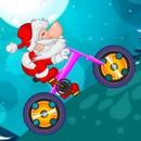 Bisikletli Noel Baba