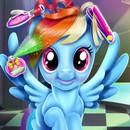 Rainbow Dash Gerçek Saç Kesimi
